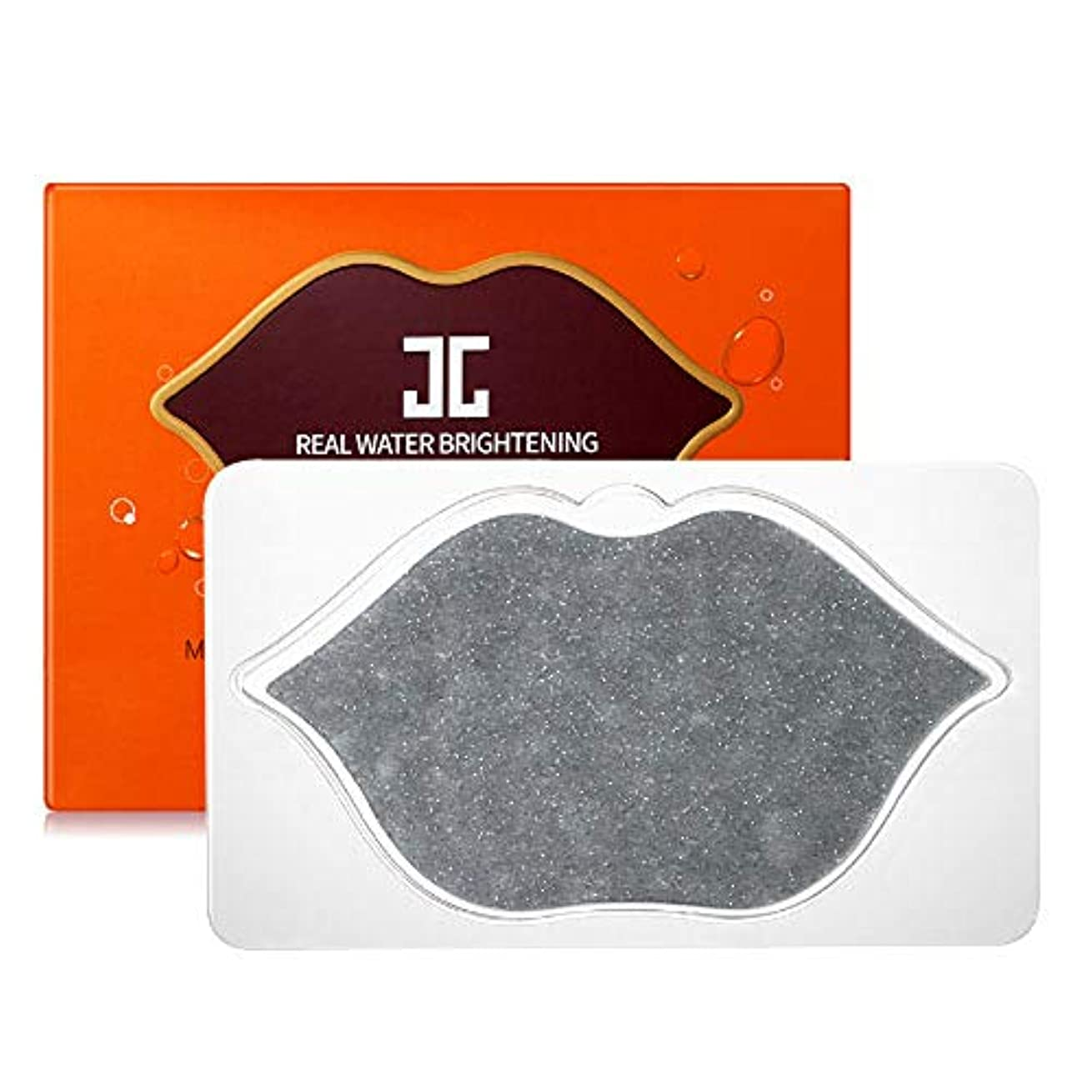 風知事白いJayjun(ジェイジュン) ブラックツヤ感リップゲルシート5枚セット