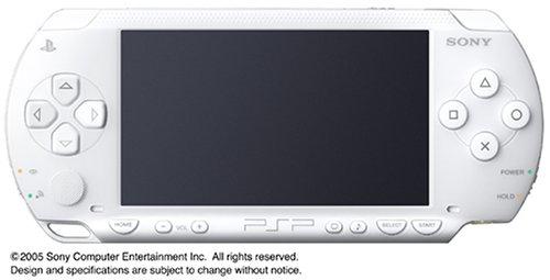 PSP「プレイステーション・ポータブル」 バリュー・パック セラミックホワイト (PSP-1000KCW) 【メーカー生産終了】
