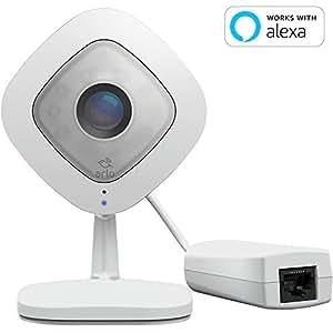 【Works with Alexa】 Arlo ネットワークカメラ 屋内用 音声通話 無料クラウド SDカード保存 PoE受電 どこからでも見れる Arlo QPlus VMC3040S-100JPS