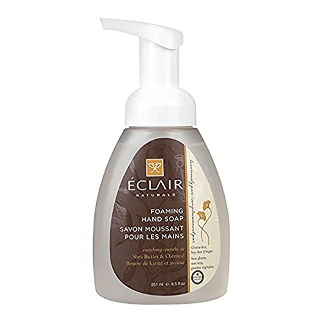 予備落胆した十年Eclair Naturals Foaming Hand Soap - Shea Butter and Oatmeal - 12 Fl oz.