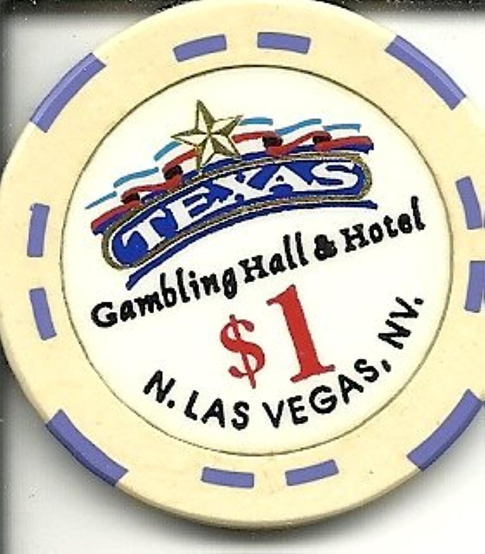 $ 1 Texas Casino Las Vegasカジノチップヴィンテージ