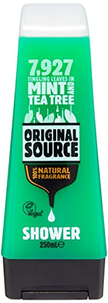 スピン灰いつOriginal Source Mint and Tea Tree Shower Gel 250 Ml by Original Source
