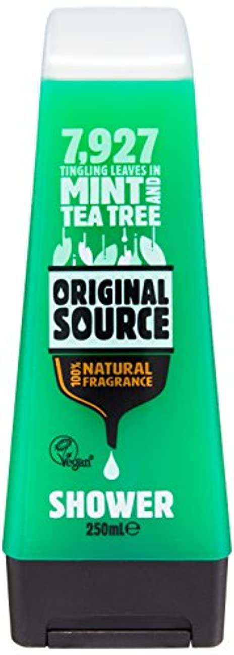 才能振り返る差し迫ったOriginal Source Mint and Tea Tree Shower Gel 250 Ml by Original Source