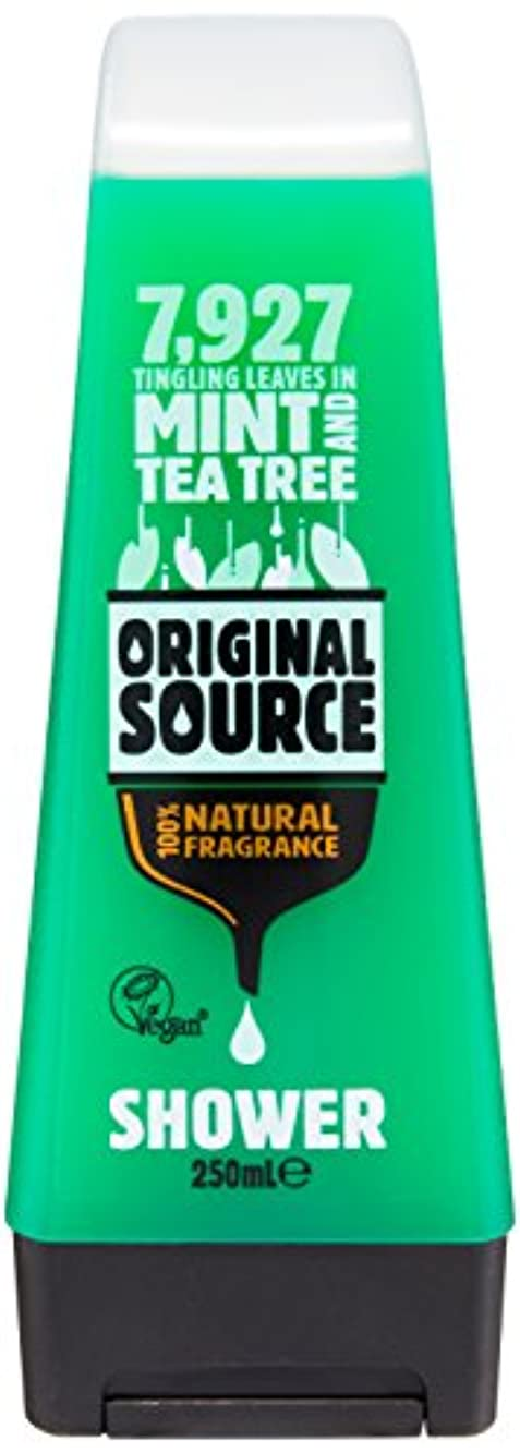 Original Source Mint and Tea Tree Shower Gel 250 Ml by Original Source
