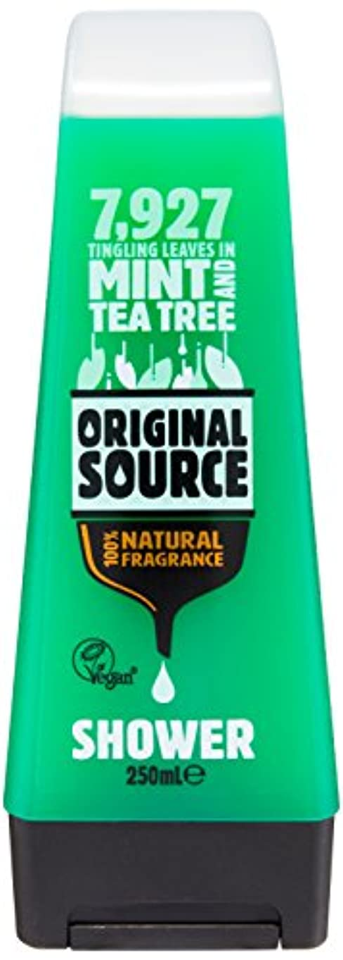 多分同封する旅Original Source Mint and Tea Tree Shower Gel 250 Ml by Original Source