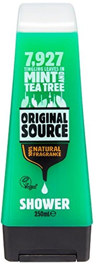 きょうだい警報アルネOriginal Source Mint and Tea Tree Shower Gel 250 Ml by Original Source