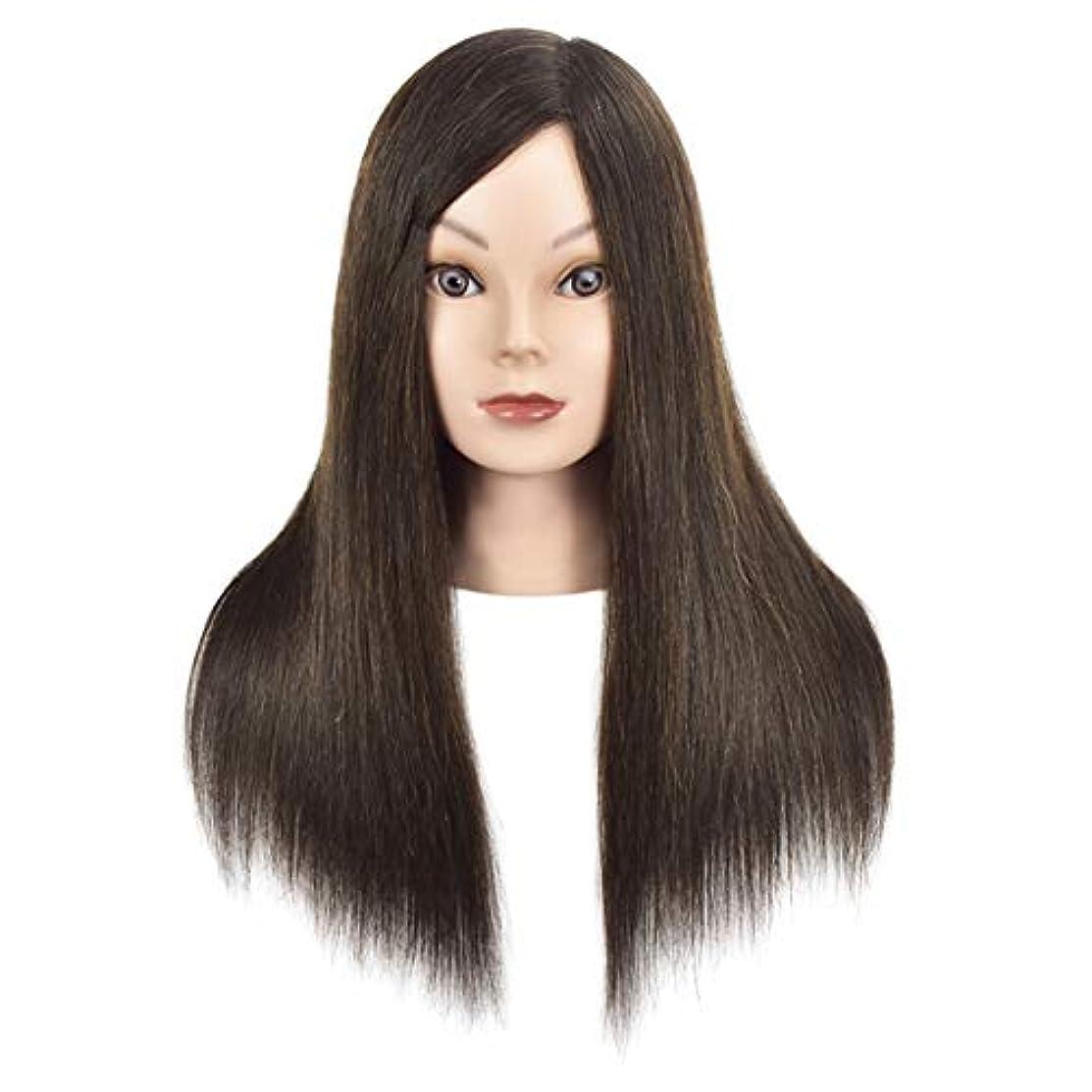 無効仕方粘り強い理髪店トリミングヘアエクササイズヘッドモールドメイクモデリング学習マネキンダミーヘッドブラック