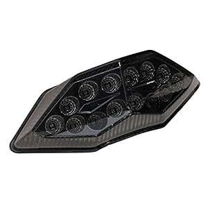 VALENTI(ヴァレンティ) ジュエルLEDテールランプ LEDタイプ:SMD スモークレンズ Ninja250 [JBK-EX250L](13-14) Z250 [JBK-ER250C](13-14) MTK-1325-SC