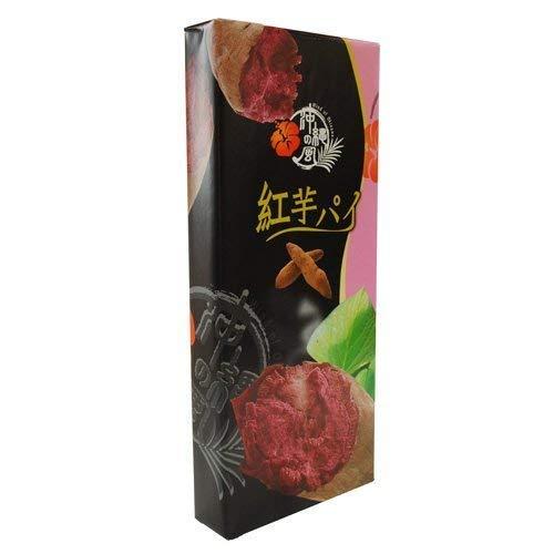 フルーツパイ紅芋(小) 10枚入 南風堂 パイ生地を何層にも折り込み、甘くて人気の果物マンゴー味に焼き上げました (5箱)