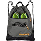 Drawstring Backpack String Bag Gym Sack Draw Sackpack Swimming Swim Athletic Sports Wrestling Snorkel Gymsack Gymnastics Men Women