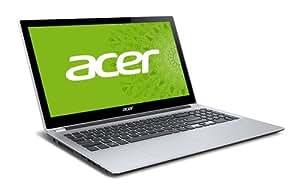 acer V5シリーズ ノートPC ( タッチ対応 / 15.6型 / Core i5-3337U / 4GB / 500GB / S-Multi / Win8 64bit / ミスティ・シルバー )  V5-571P-H54D/S