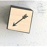幼児期のゲーム 木製の正方形の雲の装飾クリエイティブ装飾子供のおもちゃの写真の小道具(矢印)