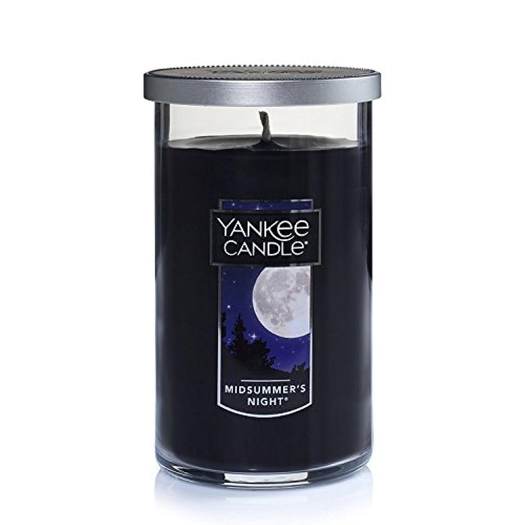 ハウスハンマージョブYankee Candle Midsummer 's Night Medium single-wickタンブラーCandle