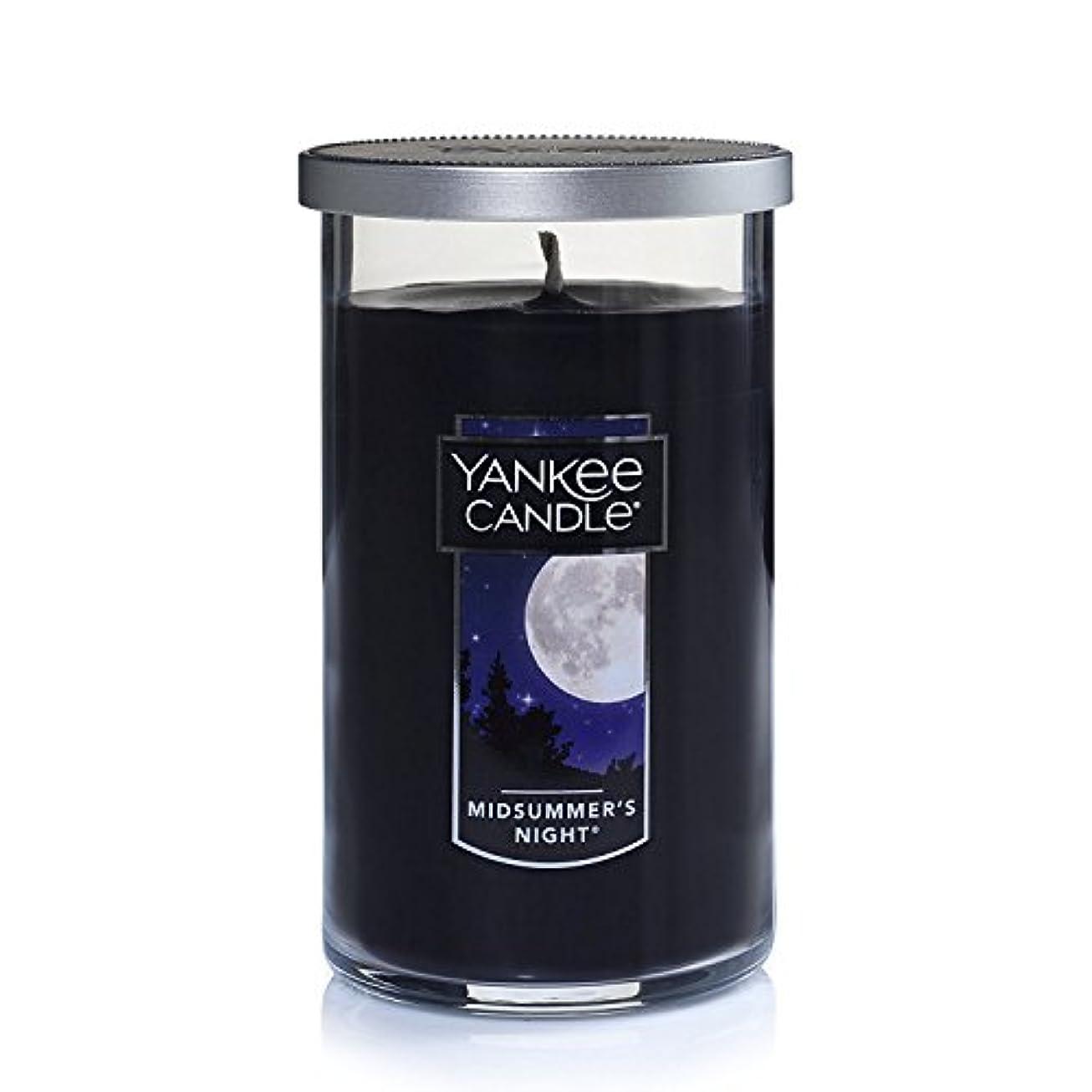 隠エンドウ適応的Yankee Candle Midsummer 's Night Medium single-wickタンブラーCandle