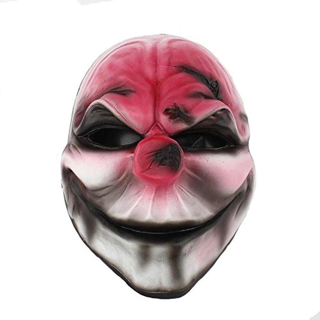 軍建築家ミントハロウィーン仮装パーティーキャラクタードレスアップ樹脂マスク収穫日2シリーズ新しい赤い頭