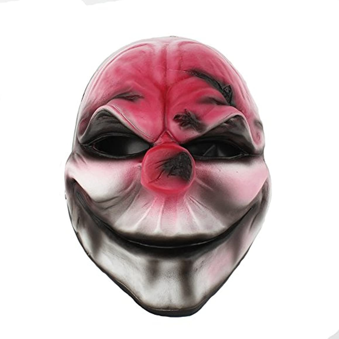 放牧する困惑するその結果ハロウィーン仮装パーティーキャラクタードレスアップ樹脂マスク収穫日2シリーズ新しい赤い頭