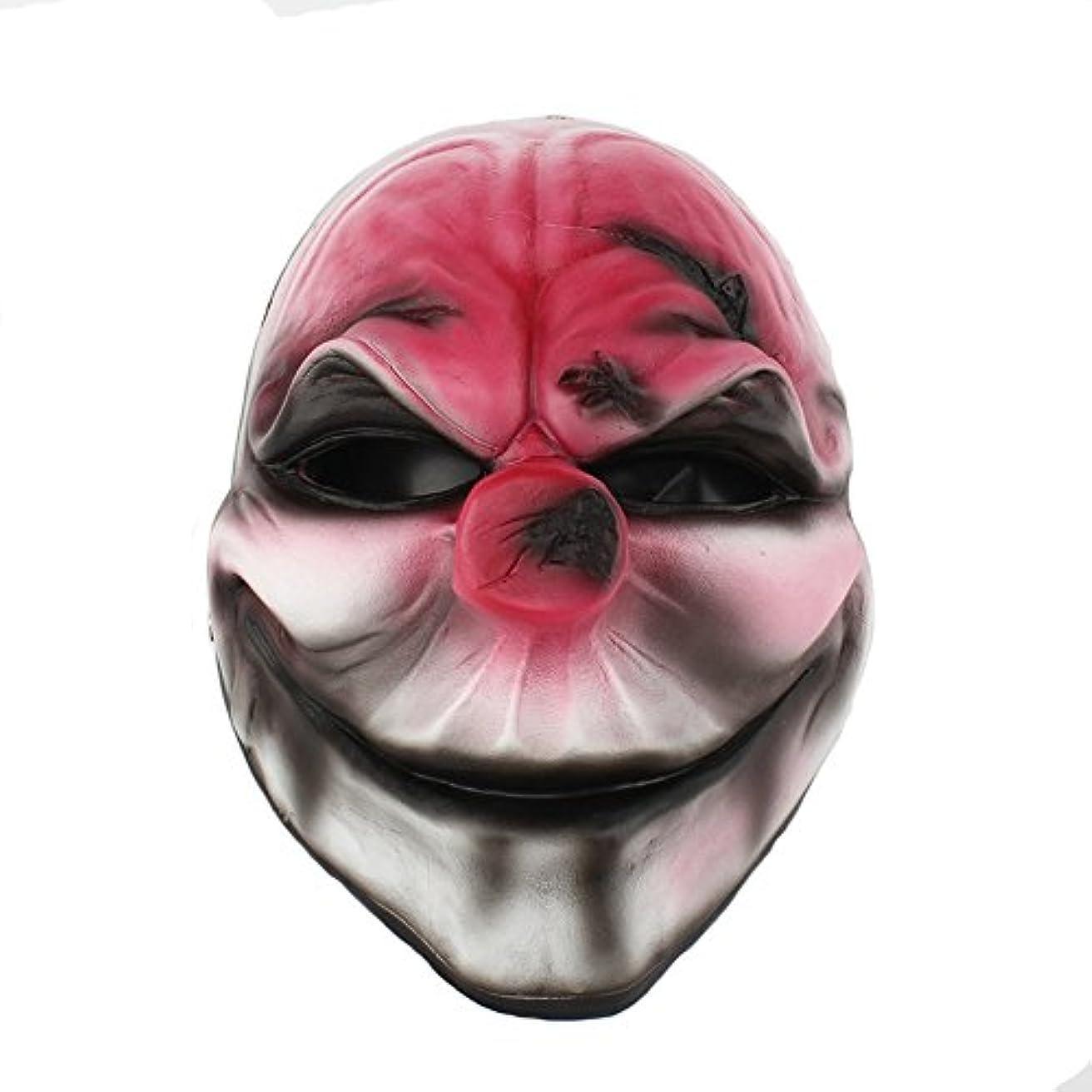 川あざ説得力のあるハロウィーン仮装パーティーキャラクタードレスアップ樹脂マスク収穫日2シリーズ新しい赤い頭