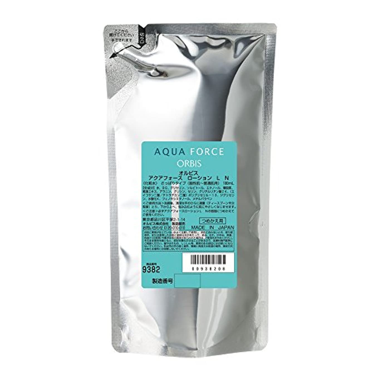 煙クックリーフレットオルビス(ORBIS) アクアフォースローション L さっぱり 詰替 180mL 化粧水 ◎乾燥?インナードライ対策◎