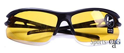 【Opa Grunzberg】® 高品質 黄 セーフティ グラス 安全メガネ PC素材 曇り止め 耐衝撃 特殊レンズ Stylish Safety Glasses Clear Supercoat Anti-Fog Case 【 イエロー 】 Yellow