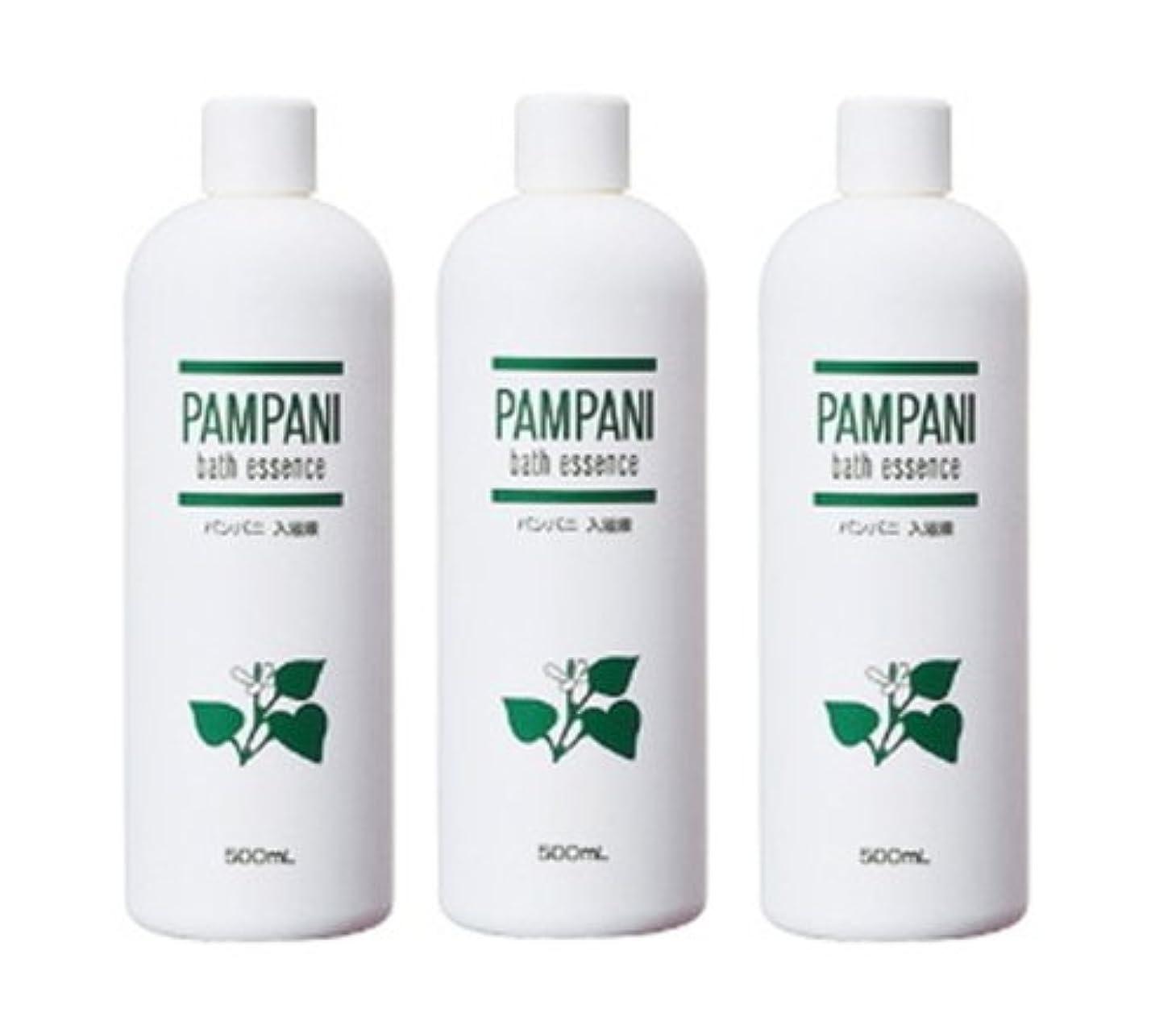 変換細いスリッパパンパニ(PAMPANI) 入浴液  (希釈タイプ) 500ml×3本組
