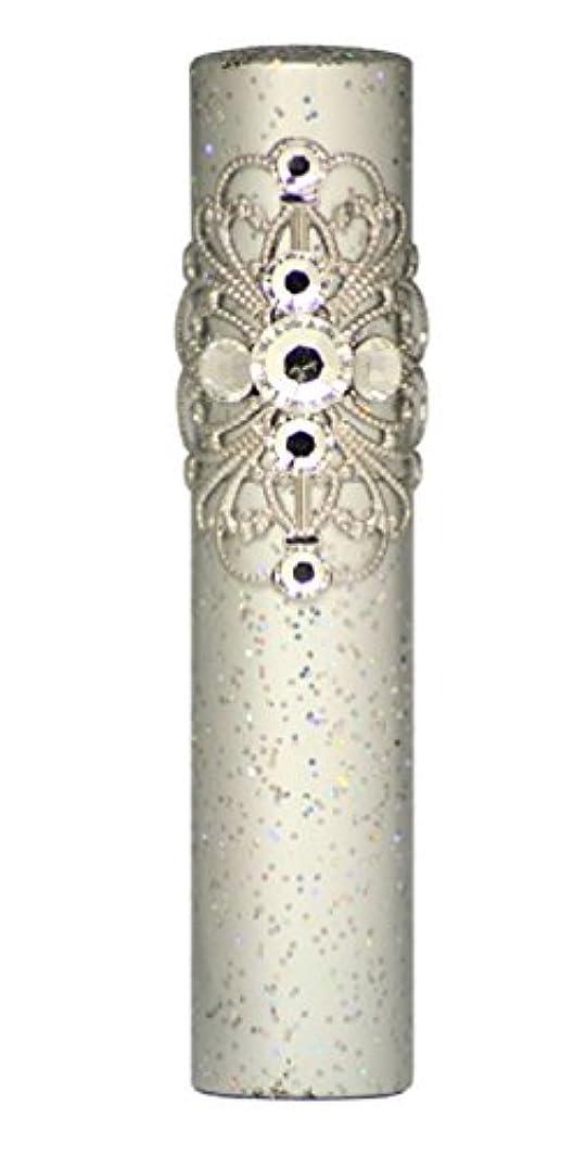 消化器大破評価するヒロセアトマイザー ラメクレオパトラ アルミアトマイザー 32191 SV (ラメクレオパトラ シルバー) スワロフスキー7石付