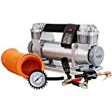 Outbac Platinum Series OTB600 200L/min 220PSI 12v Electric Air Compressor Kit for Car & 4WD, Silver