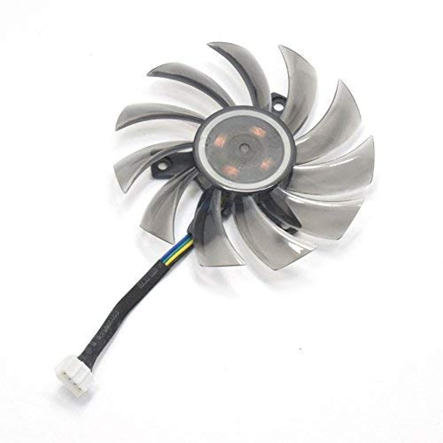 クリケット推論印をつけるinRobert 75mm T128010SU Graphic Card Fan Replacement Cooler For Gigabyte NVIDIA GeForce GTX 760 770 780 670 580 GPU (1pc) [並行輸入品]