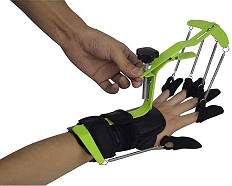 後世影響する選出する指の変形や破損指ナックル固定化のためのフィンガートレーニング機器フィンガー矯正ブレースガードプロテクターリハビリトレーニングデバイス動的フィンガースプリント、指のトレーニングデバイスフィンガースプリント