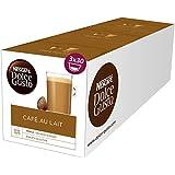 Nescafé Dolce Gusto Café Au Lait, Latte, Hot Drinks, 3 X 30 Capsules