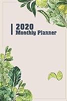 2020 Monthly Planner: Two Year - Monthly Calendar Planner 6 x 9''   24 Months For Academic Agenda Schedule Organizer