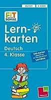 Lernkarten Deutsch 4. Klasse: 240 Karten/Lernbox