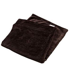 アイリスプラザ 枕パッド ダークブラウン 1:枕カバー (90×43cm)/プレミアムマイクロファイバー