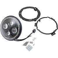 クリアキン Kuryakyn LED ヘッドライト 7インチ ハロー オービットビジョン 2001-1523 2460