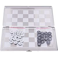 Fenteer ミニ 磁気 国際チェスセット チェス盤 チェスピース