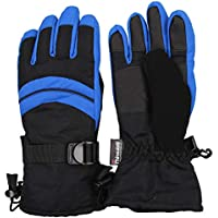 Kid's 2-Tone Waterproof Winter Snow Ski Glove