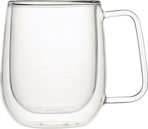 iwaki(イワキ) 耐熱ガラス Airマグ 【2重構造耐熱ガラス】 岡田美里 紅茶ソムリエシリーズ 250ml KML435