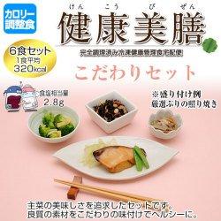 カロリー調整食 健康美膳 こだわりセット(6食セット)
