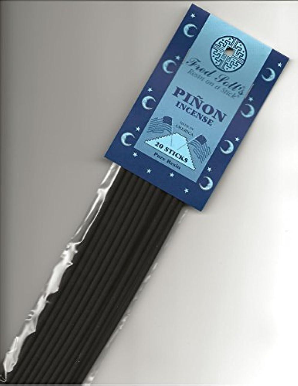 文献国内のクローンFred Sollの松のお香、20 Sticks
