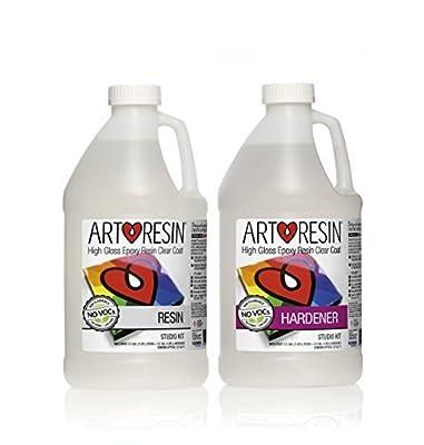ArtResin - Epoxy Resin - Clear - Non-Toxic - 1 Gal (3.78 L)