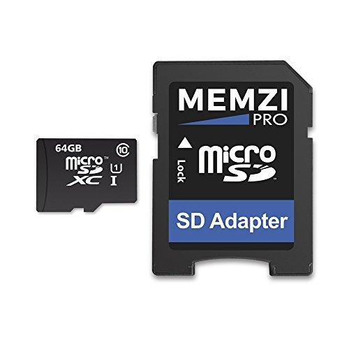 Memzi Pro 64GBクラス1090Mb / s Micro SDXCメモリカードSDアダプタfor Sony XperiaシリーズタブレットPCの