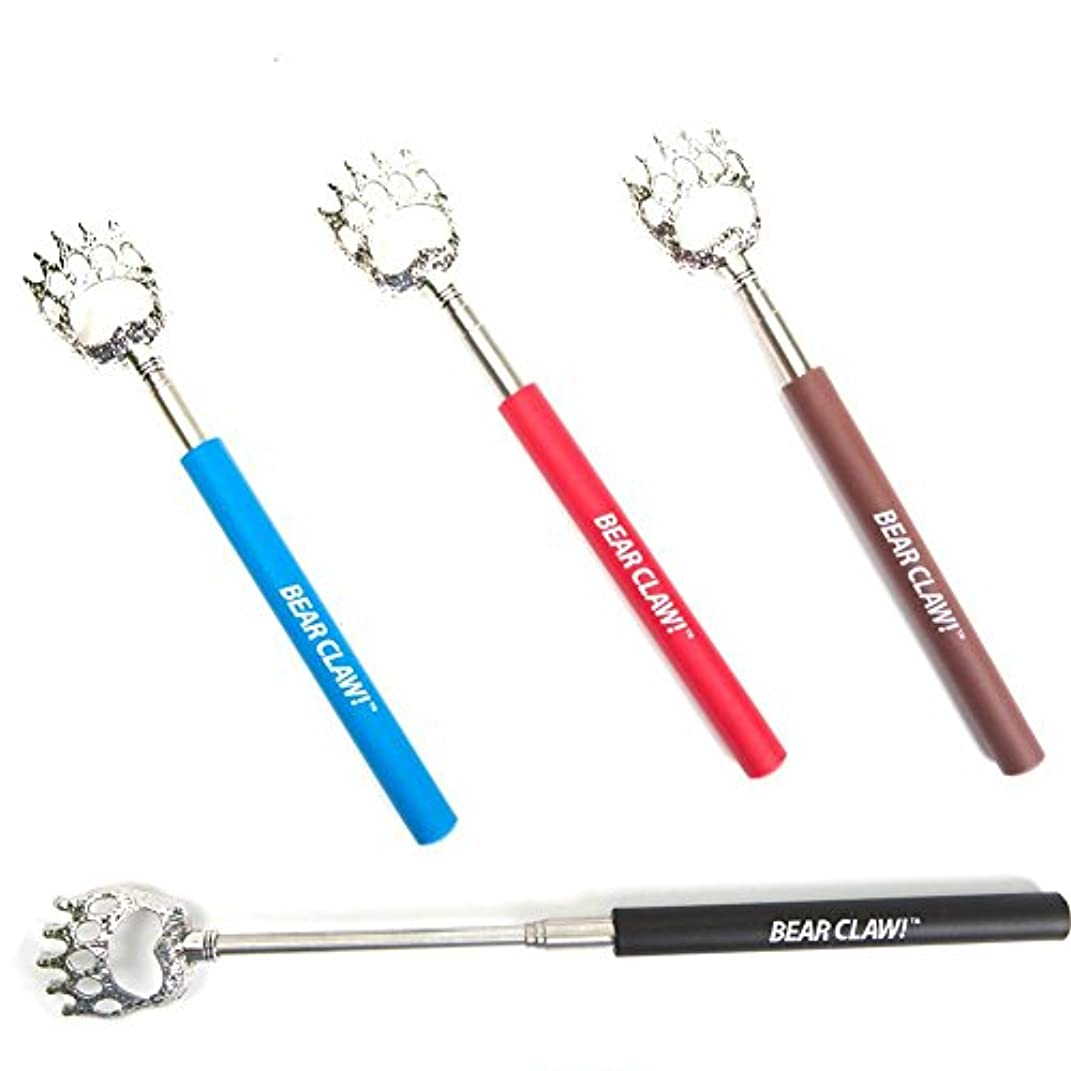 モーテル通知手段Bear Claw Extendable Telescopic Back Scratcher 1x (Assorted Colors) by DM Merchandising