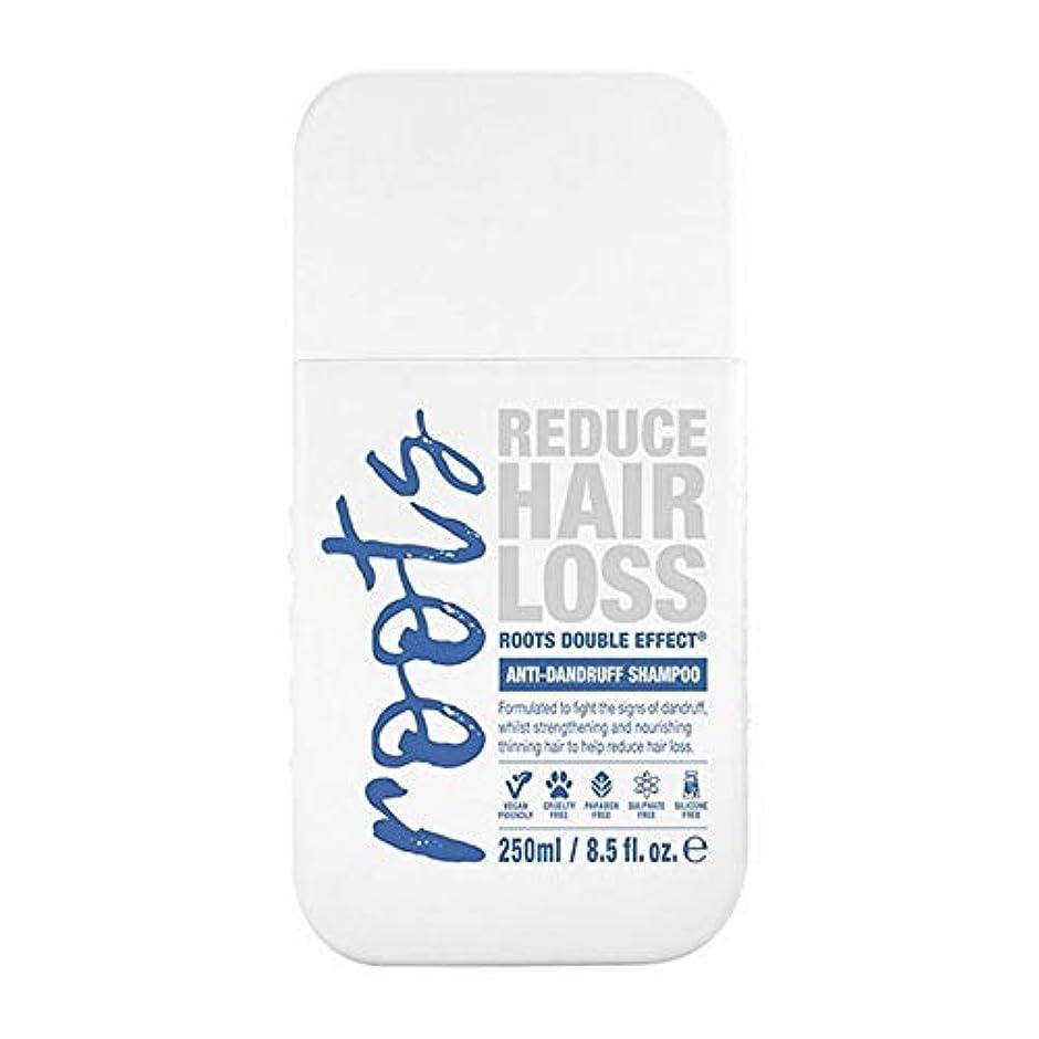 豊富スラック日[Roots ] 根のダブル効果フケ防止シャンプー250Ml - Roots Double Effect Anti-Dandruff Shampoo 250ml [並行輸入品]