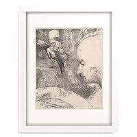 オディロン・ルドン Odilon Redon 「The Celestial Art, 1894.」 額装アート作品