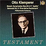 モーツァルト : 交響曲 第29番 イ長調 K.201 (186a)