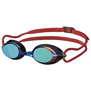 SWANS(スワンズ) 競泳用 スイミングゴーグル SRX ミラーレンズ PREMIUM ANTI-FOG FINA承認モデル SRX-MPAF スモーク×エメラルド×ブラック(EMSK)