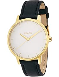 [ニクソン]NIXON KENSINGTON LEATHER: GOLD/WHITE/BLACK NA1081964-00 レディース 【正規輸入品】