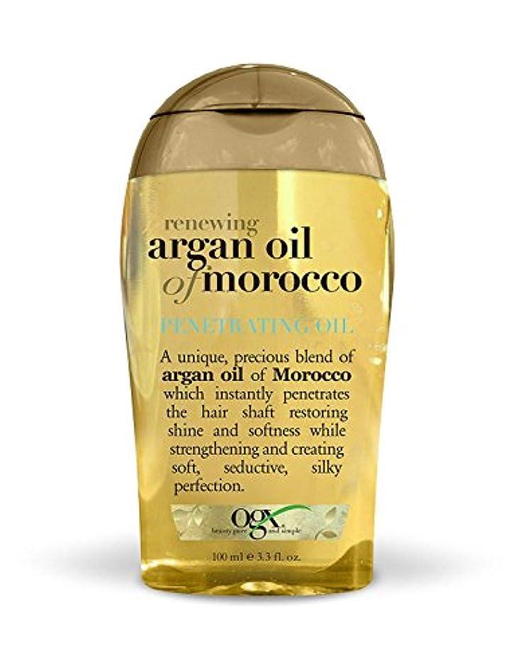 スクラブ話をする本能Organix Moroccan Argan Oil Penetrating Oil 100 ml x 2 パック (並行輸入品)