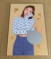 TWICE ミナ 5th Mini Album CD What is Love? 封入特典 スクラッチフォトカード トレカ MINA