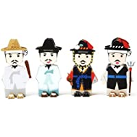 Korea Character Papertoy - A district magistrate & A persnnel Manager & Yeokjol & A policeman