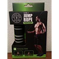 Gold's Gym Weighted Adjustible 3-in-1 Jump RopeIcon Health & Fitness, Inc. [並行輸入品]